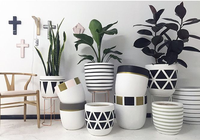 design twins pots - Google Search