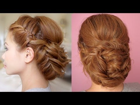Hairstyles For Prom Cgh : Bantu knot curls easy no heat cute girls hairstyles