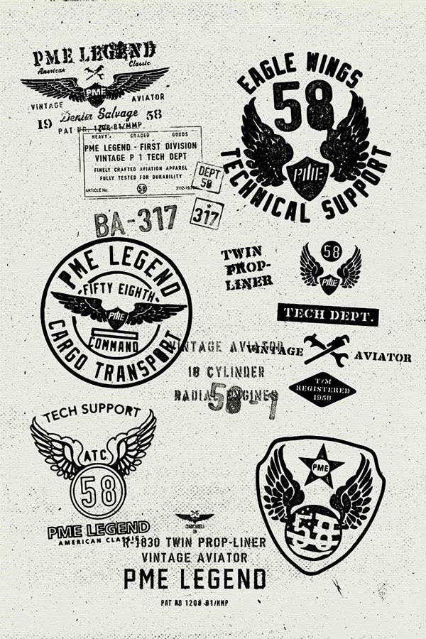 Vector graphics for PME Legend on Behance by Kristiaan Passchier