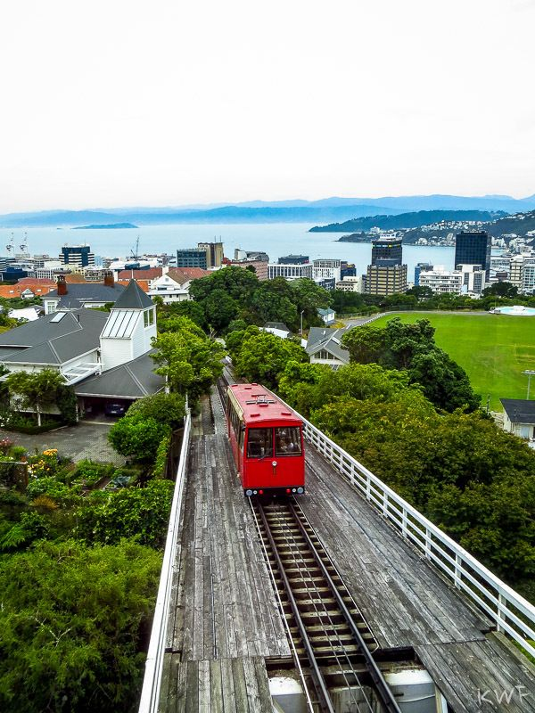 Cable Car, Wellington, North Island, NZ