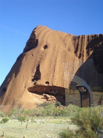 Other side of Uluru