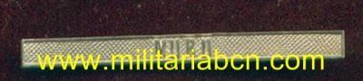 España. Epoca Alfonso XII. Pasador en Plata para la Medalla de Distinción de la Guerra Civil. 1873-1874: Muru. - Militària BCN