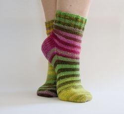 I never knew how it felt to wear hand knitted socks until last year when I finally got round to knitting myself a pair. I only wish I'd made the...