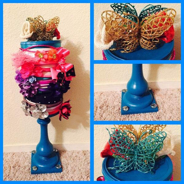 Headband/bow holder that I finished making for my daughter, Brielle.  - Jessica McBride