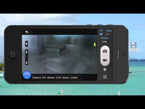 DJI Phantom 2 Vision Plus Camera Tilt Tutorial.  This is how to control the camera in the DJI Vision App.  Please share this video and enjoy all of my other DJI Phantom 2 Vision Plus tutorial videos too!
