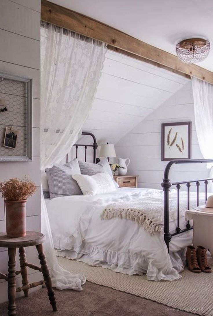 Chic Bedroom Decorating Ideas Stunning 35 Rustic Shabby Chic Bedroom Decorating Ideas