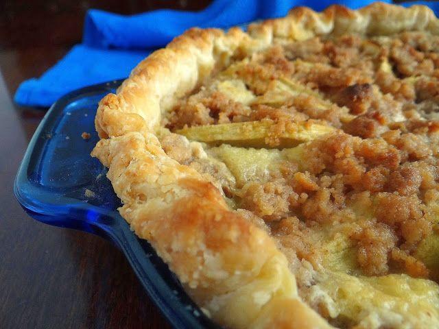 Brown Butter Creamy Apple Pie   Being a Bear Photos   Pinterest