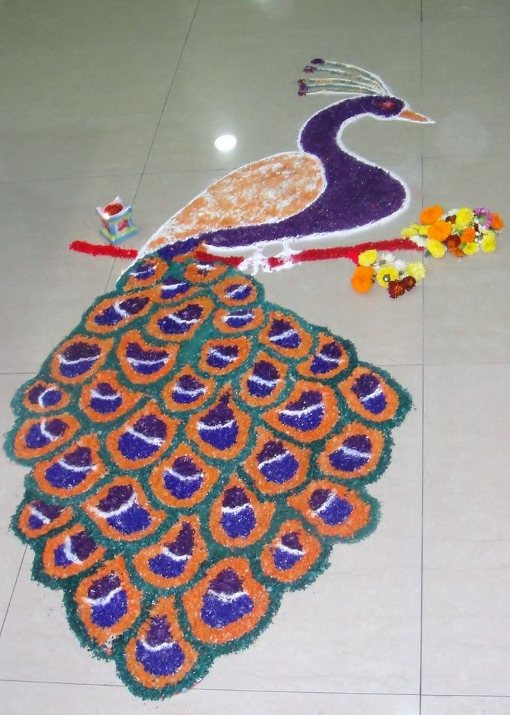 #Creative #Rangoli #Design Just4You… 1625a5149d58ee04b01c2c4216a0c1b3  diwali craft diwali rangoli