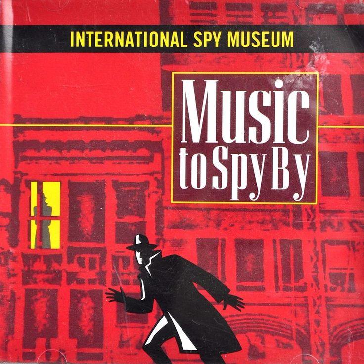 International Spy Museum CD Music To Spy By Bond Saint Mission Impossible UNCLE #FilmScoreSoundtrackTVScoreSoundtrack #spy #cd