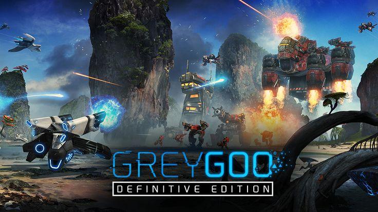Grey Goo: Available Now - Grey Goo