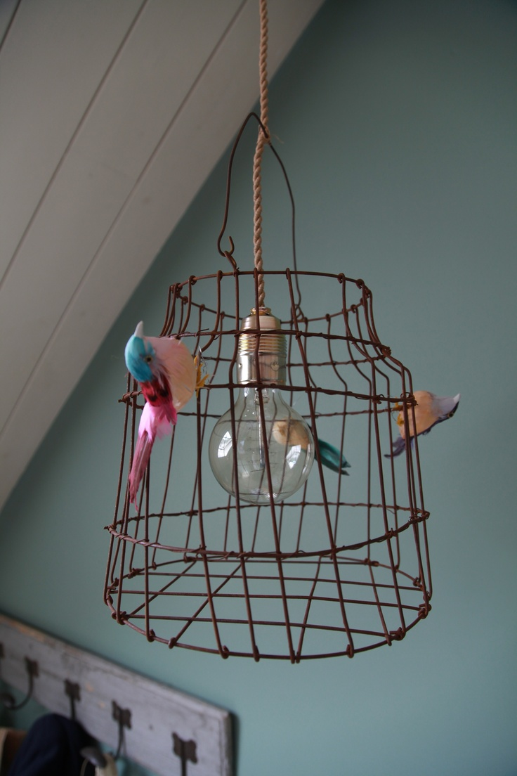 birds escaped! a lamp by www.dutchdilight.com