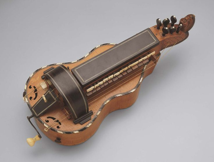 Hurdy-gurdy early 19th century Rémy Bassot (French, 1792–1870)  Object Place: Mirecourt, France