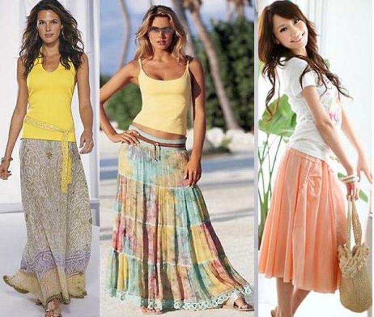 Women's Skirts   Women long skirts images