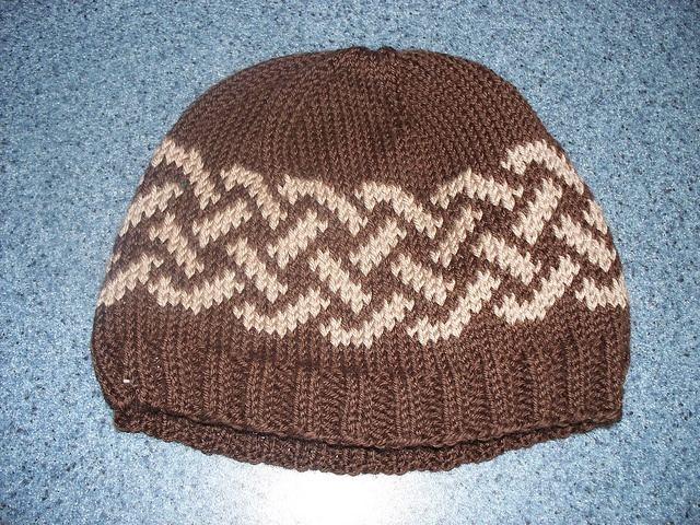 Celtic Knot Knitting Pattern Free : Celtic knot hat by joanie newsome free knitting
