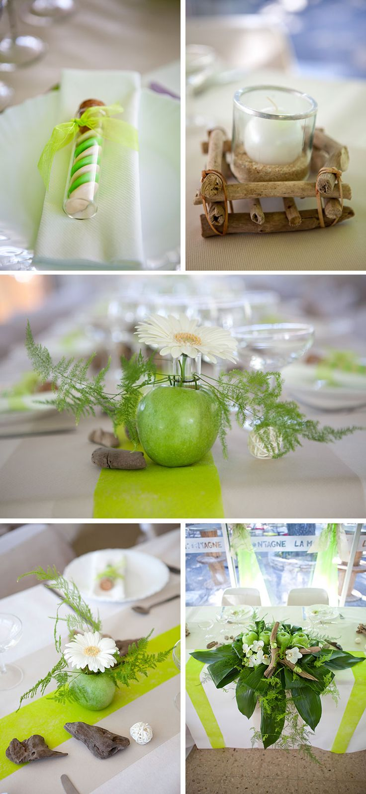 161 best decoration mariage images on pinterest napkin - Deco mariage theme nature ...