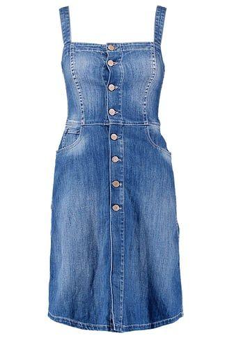 Le Temps Des Cerises GINGER - Sukienka jeansowa - blue za 265,85 zł (31.12.17) zamów bezpłatnie na Zalando.pl.