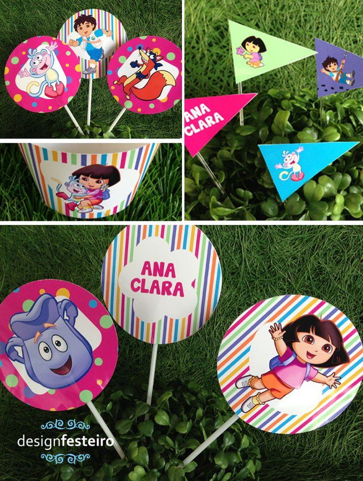Festa Dora Aventureira | Design Festeiro
