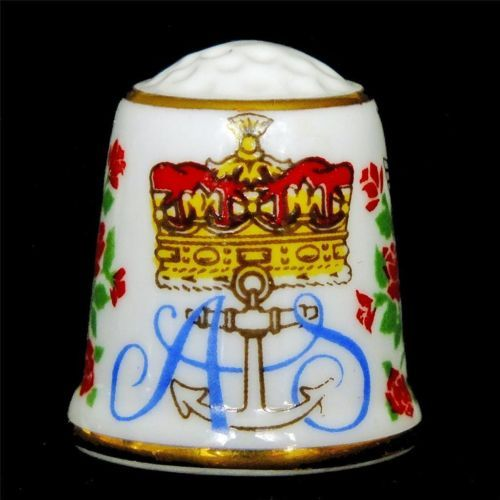 Attractive SUTHERLAND china PRINCE ANDREW & SARAH FERGUSON commemorative THIMBLE | eBay