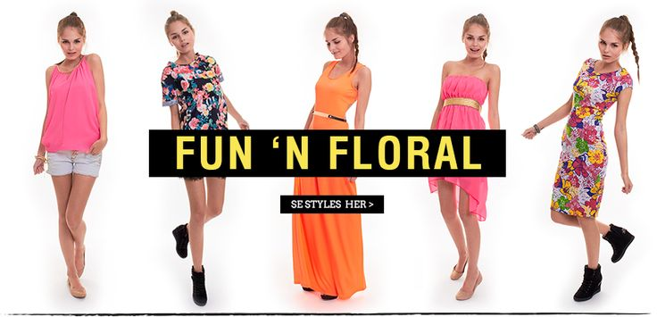 Fun and floral - Dresses with flowers