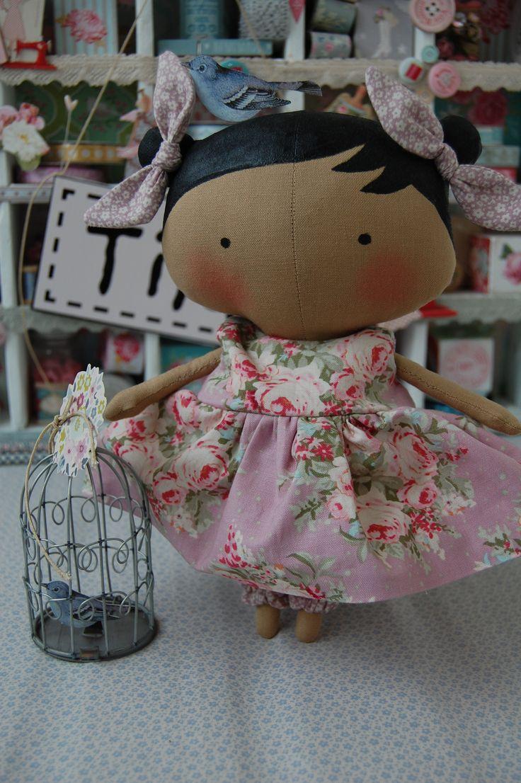 Sweetheart doll | Tilda idea | Pinterest | Book, New books ...
