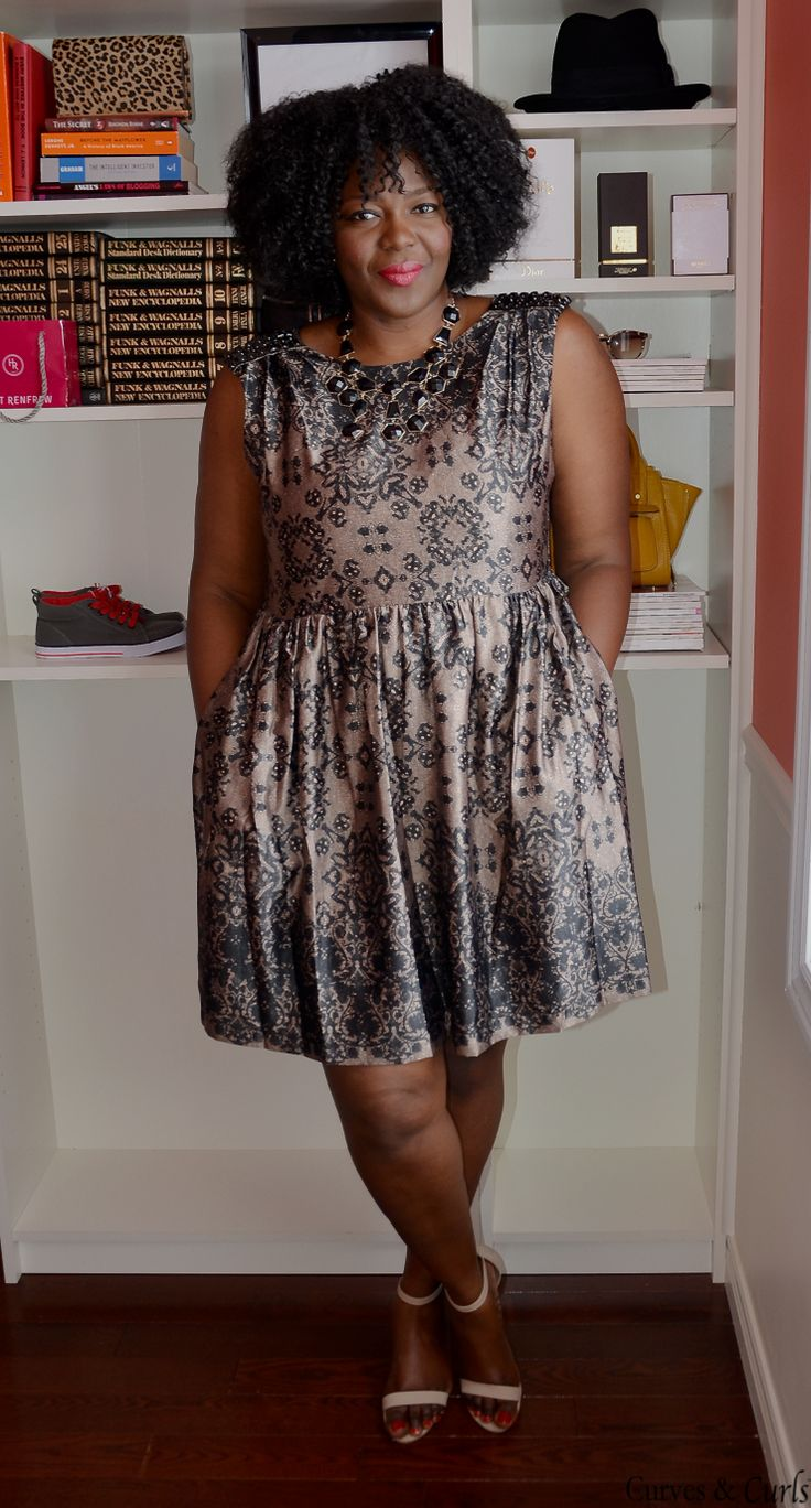 My Curves & Curls™ | A Canadian Plus Size Fashion blog: The perfect Office Party Dresses ( Plus size edition)