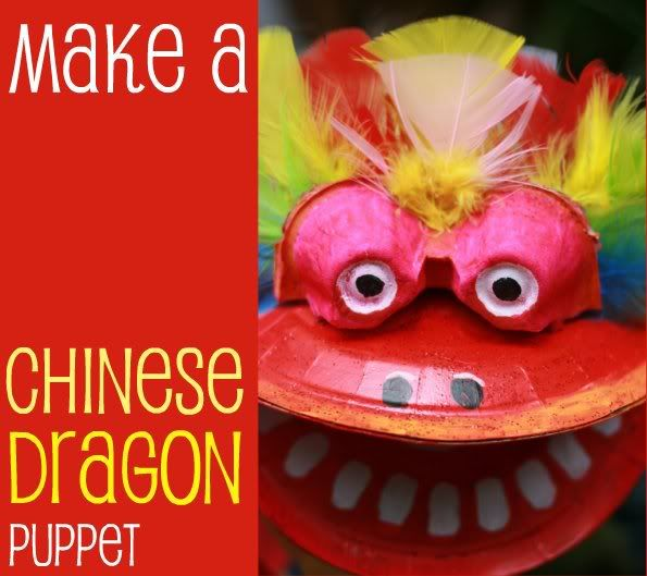 How To: Chinese New Year Dragon Puppet