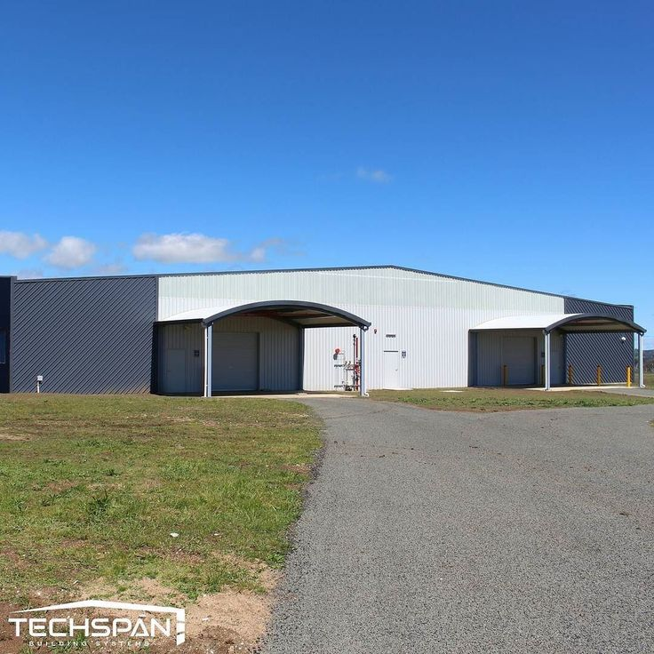 Secure carpark we built for the new Armidale Airport upgrade #armidale #armidalensw #airport #planes #nsw #techspanbuildings #aviation