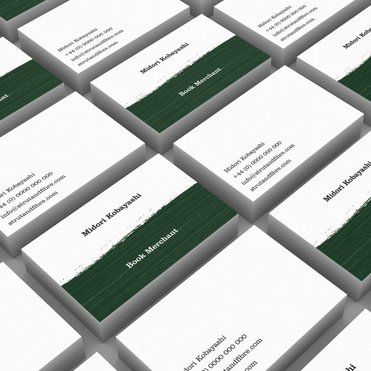 Koboyashi – one of our Texture business card templates available to customise and order on our site.