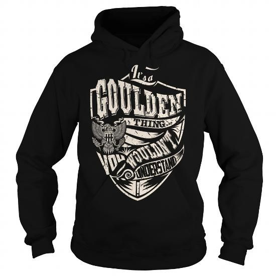 Awesome Tee Its a GOULDEN Thing (Eagle) - Last Name, Surname T-Shirt Shirts & Tees