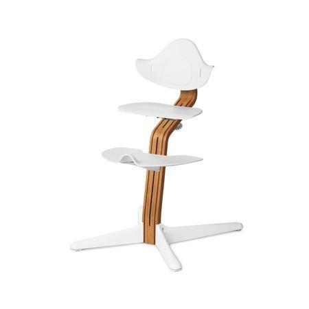 Evomove Стульчик Nomi, основание Эксклюзив, Дуб, обвес в ассорт.  — 20600р.  Регулируемый стульчик-трансформер Evomove Nomiпредназначен для детей в возрасте от 2 до 12 лет.  Детский стульчик Nomiможно использовать до подросткового возраста: высота сиденья и подножки легко регулируется, а сам стульчик выдерживает вес до 90 кг, при этом вес его самого не более 5 кг!  Преимущества детского стульчика-трансформера Nomi:  • Универсальность.Стульчик Nomi не требует наличия детского стола…