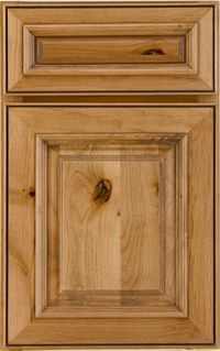 Schuler Cabinets | Marietta Alder Natural (Burnt Sienna Glaze)