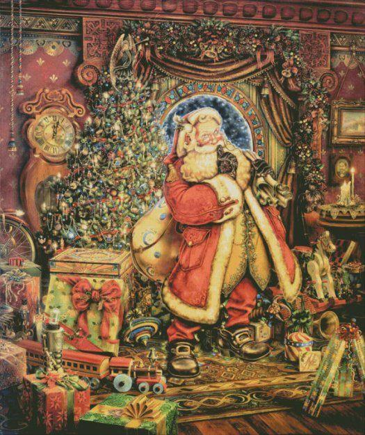 Crossstitch Christmas Stockings
