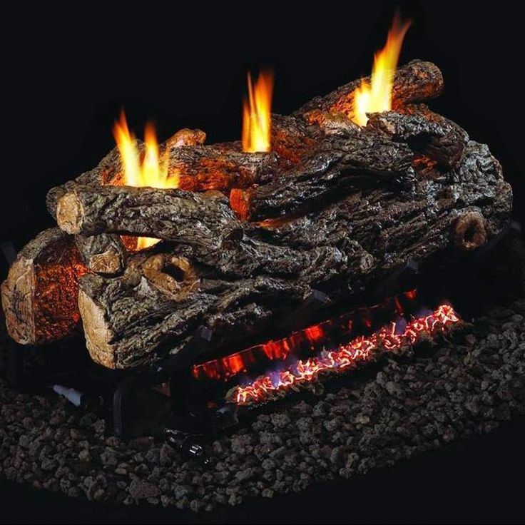 Peterson Real Fyre 24-inch Golden Oak Designer See-thru Log Set With Vent-free Natural Gas Ansi Certified G9 Burner - Basic On/Off Remote >>> Read more  at the image link. (This is an affiliate link and I receive a commission for the sales)