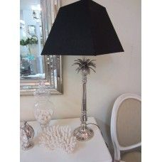 Pineapple Silver Lamp is stunning. The Lamp is 80cm high and makes for a perfect bedside table or corner table.