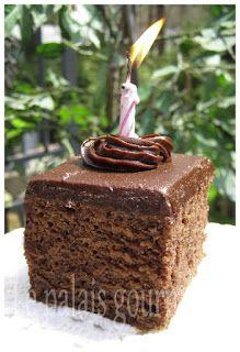Le palais gourmand: Gâteau texan et 5ième anniversaire de mon blog