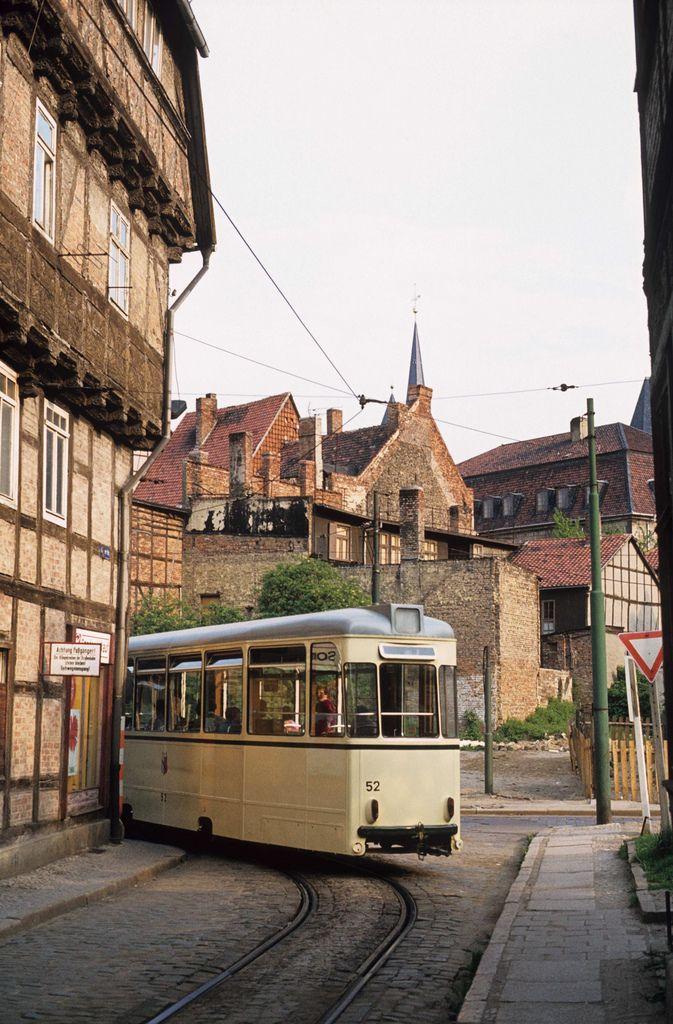 DDR HVG 1981-05, Straßenbahn in Halberstadt, DDR | Foto: Mark Meyts
