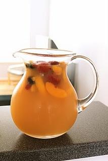 Sparkling peach sangria | Cocktails | Pinterest | Peach Sangria ...