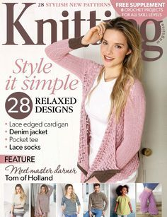 KNITTING MAGAZINE - MAY 2015