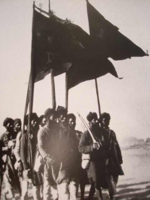 During the 2nd march Sikhs preparing to lay their life to liberate Gurdwaras from Yogi Hindu control