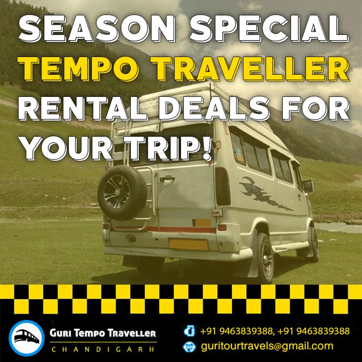 Season Special Tempo Traveller Rental Deals For You Trip Chandigarh To Manali #Tempo #Traveller #Chandigarh #Manali