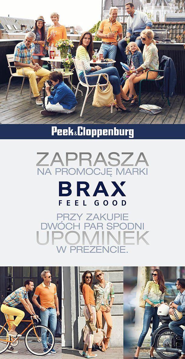 Peek&Cloppenburg zaprasza na promocję marki Brax! Przy zakupie dwóch par spodni upominek w prezencie. #GaleriaMokotow #galmok #Peek&Cloppenburg @Peek & Cloppenburg #Brax #promocja #fashion #shooping # 2014