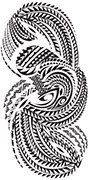 Papua New Guinea New Eire Tattoo Design
