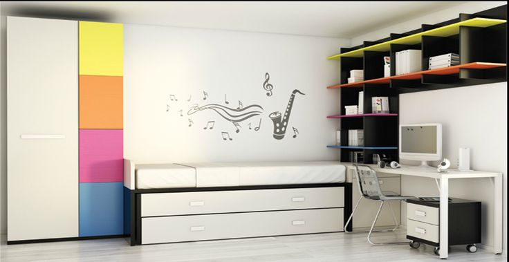 Dormitorios juveniles catalogo Muebles La Fabrica 2013