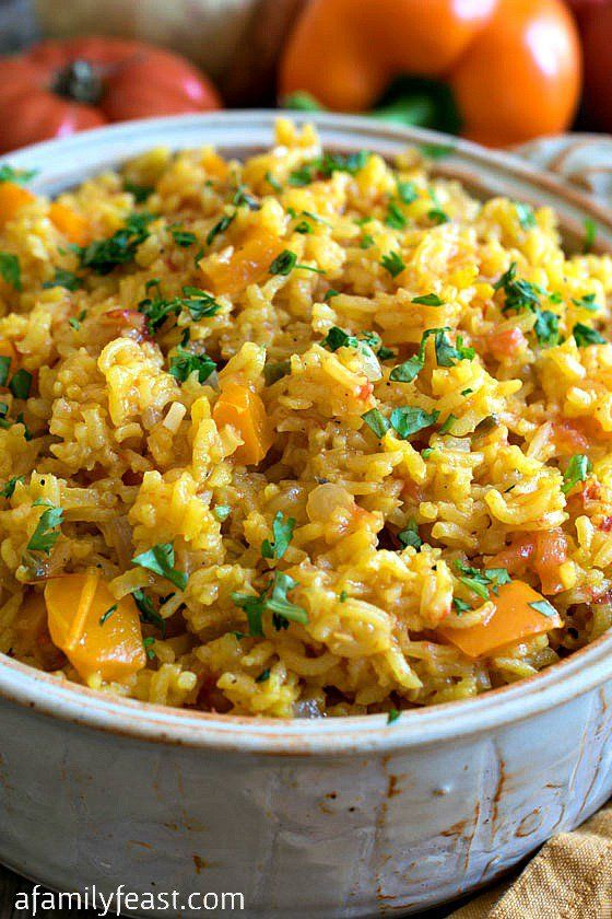 Spanish Rice – Simple and delicious – this rice is a great way to add some international flavor to any meal!
