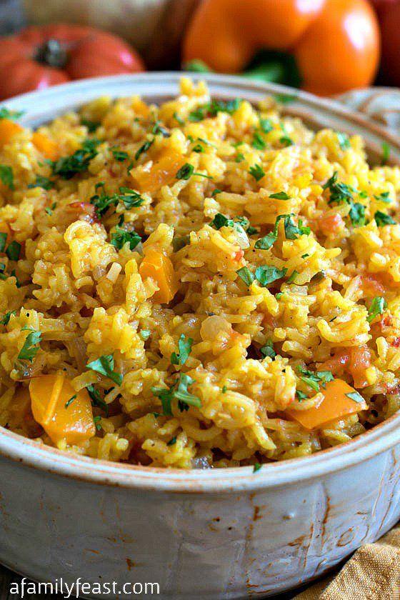 Spanish Rice - A Family Feast
