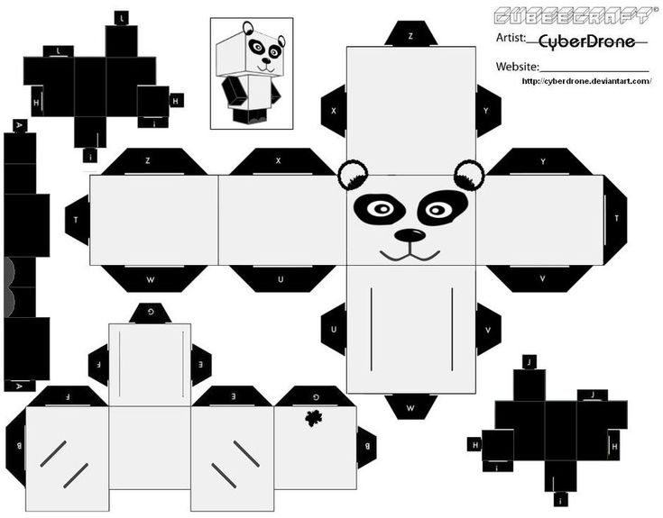 Printable Origami Cube Instructions