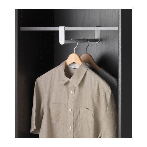 17 best ideas about clothes rail ikea on pinterest waredrobe rails ikea pax wardrobe and - Bastone appendiabiti ikea ...
