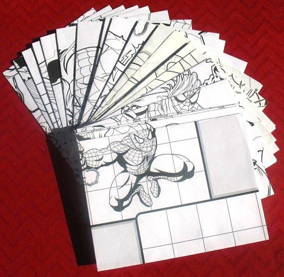 Marvel Superheroes A2 Envelopes