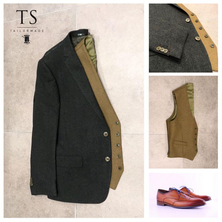 Kies zelf je knopen, maak je kostuum persoonlijk met TS Tailormade