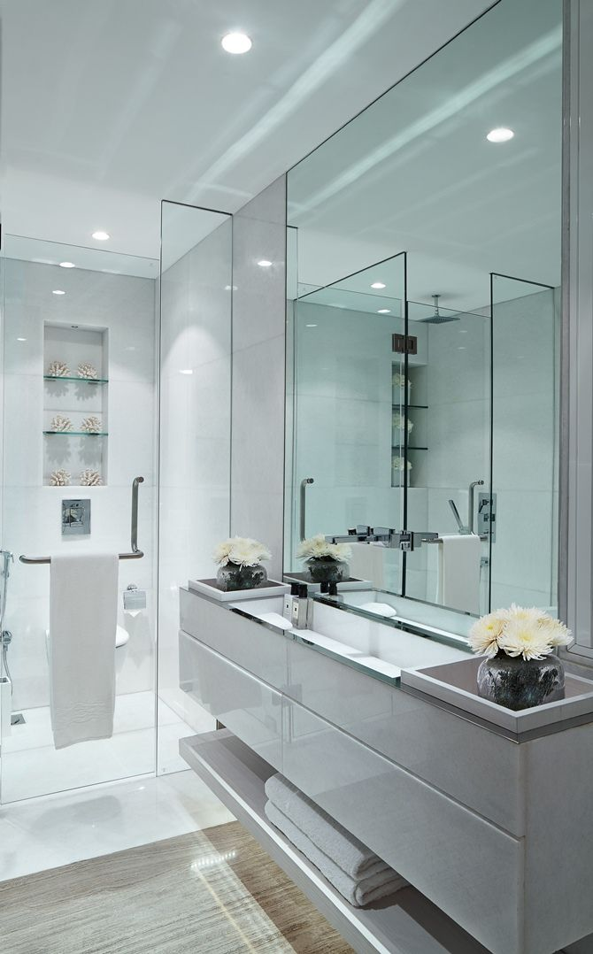 465 Best Images About Bathroom Areas And Powder Rooms On Pinterest Contemporary Bathrooms